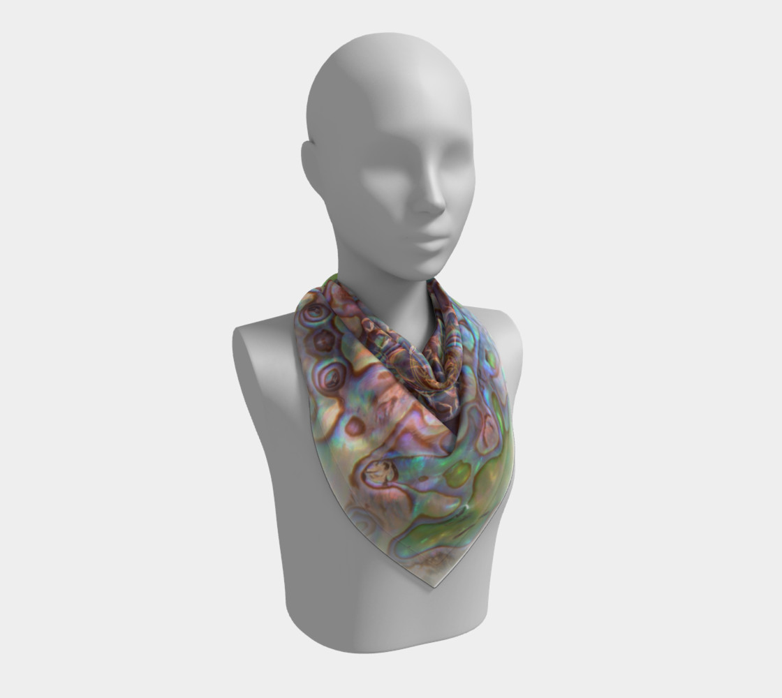 Sea Opal Silk Scarf preview #2
