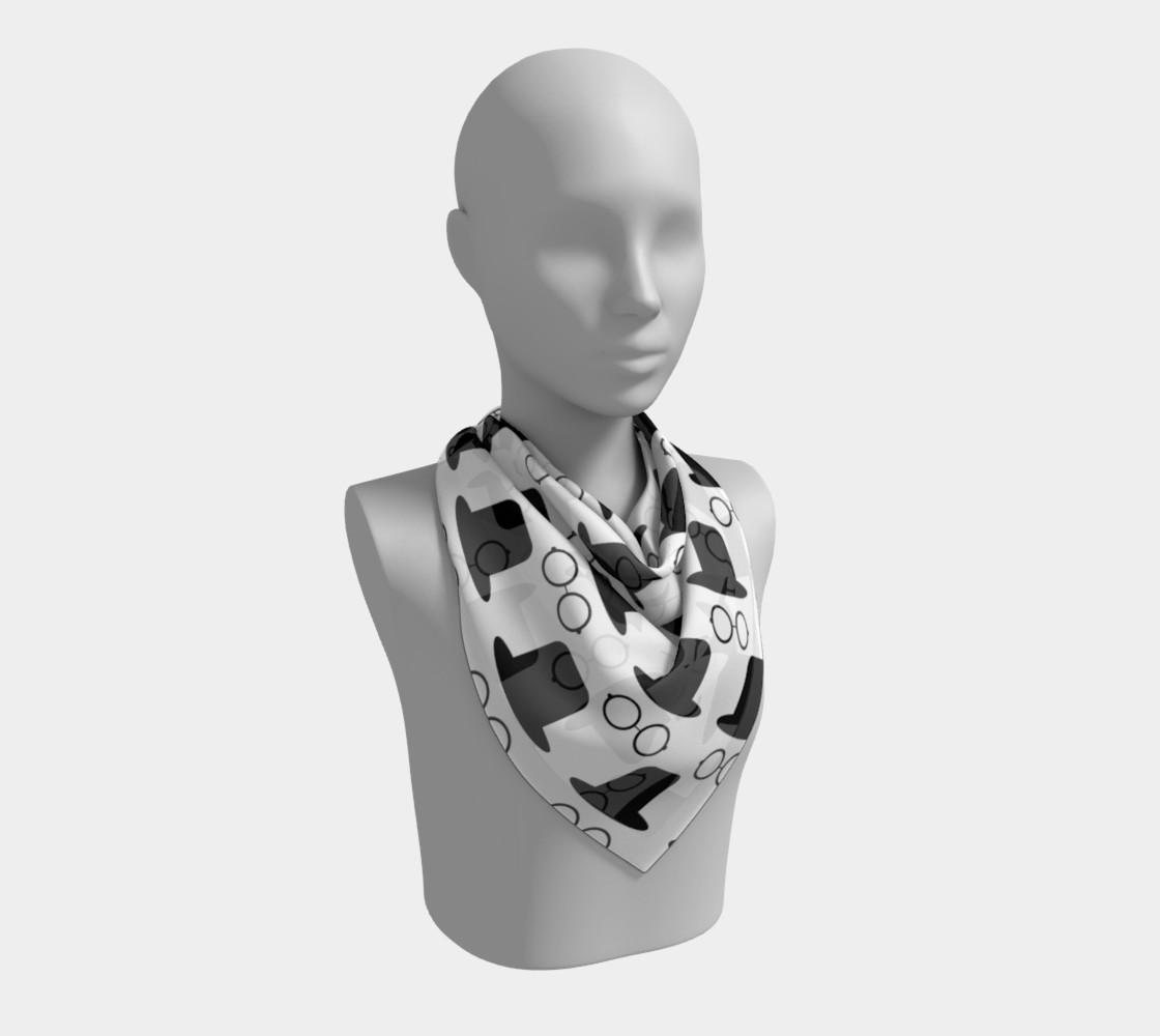 Aperçu de hats and glasses vector pattern  #2