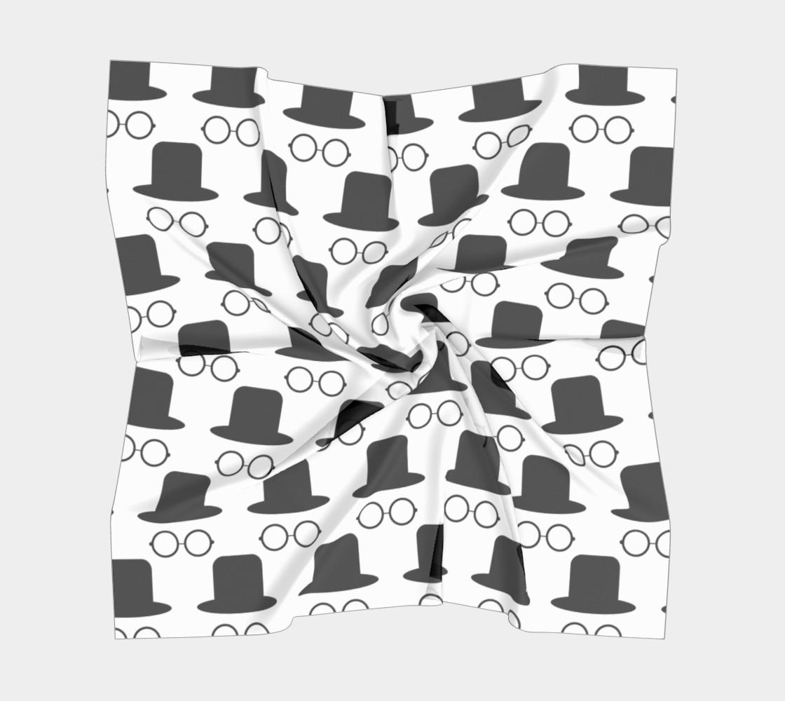 Aperçu de hats and glasses vector pattern  #5