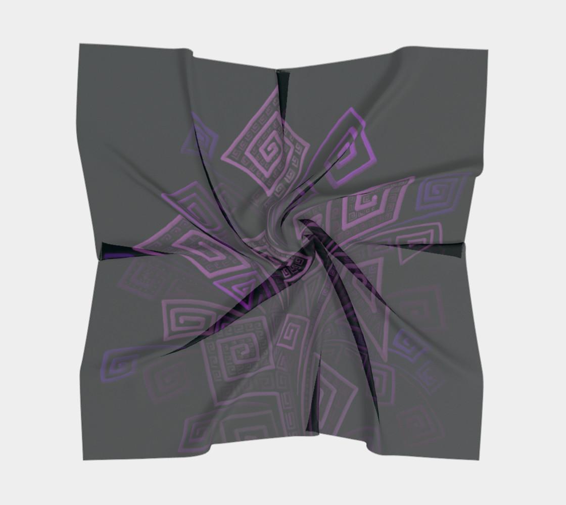 Aperçu de Purple 3D Square #5