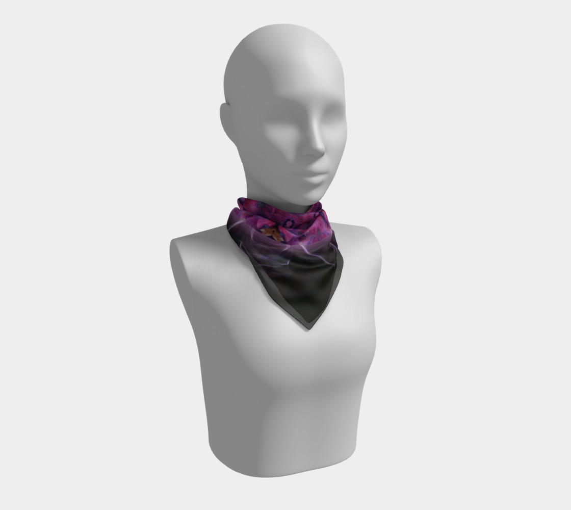 Hydrangea Silk Scarf preview #1