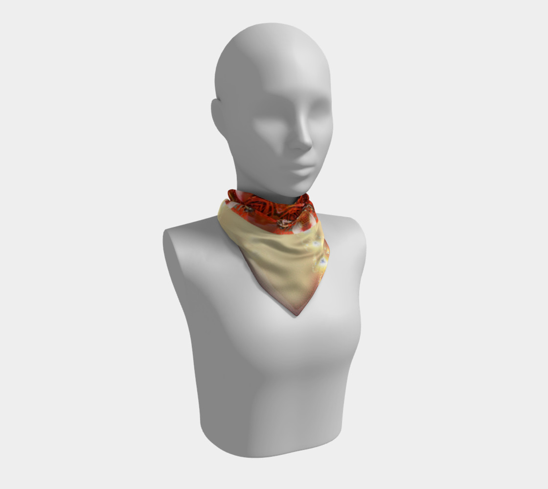 Large Ambrosia Silk Scarf preview #1
