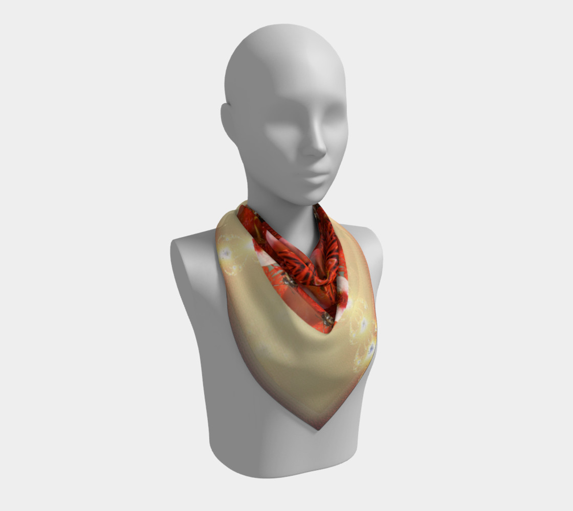 Large Ambrosia Silk Scarf preview #2