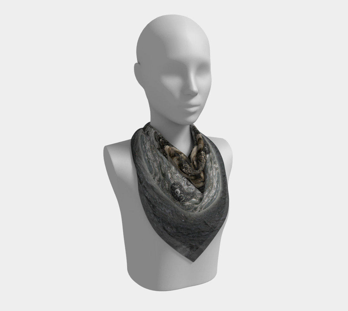 Save the Turtles Silk Scarf preview #2