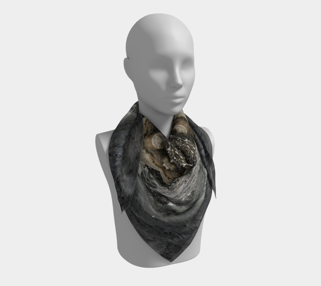 Save the Turtles Silk Scarf preview #3