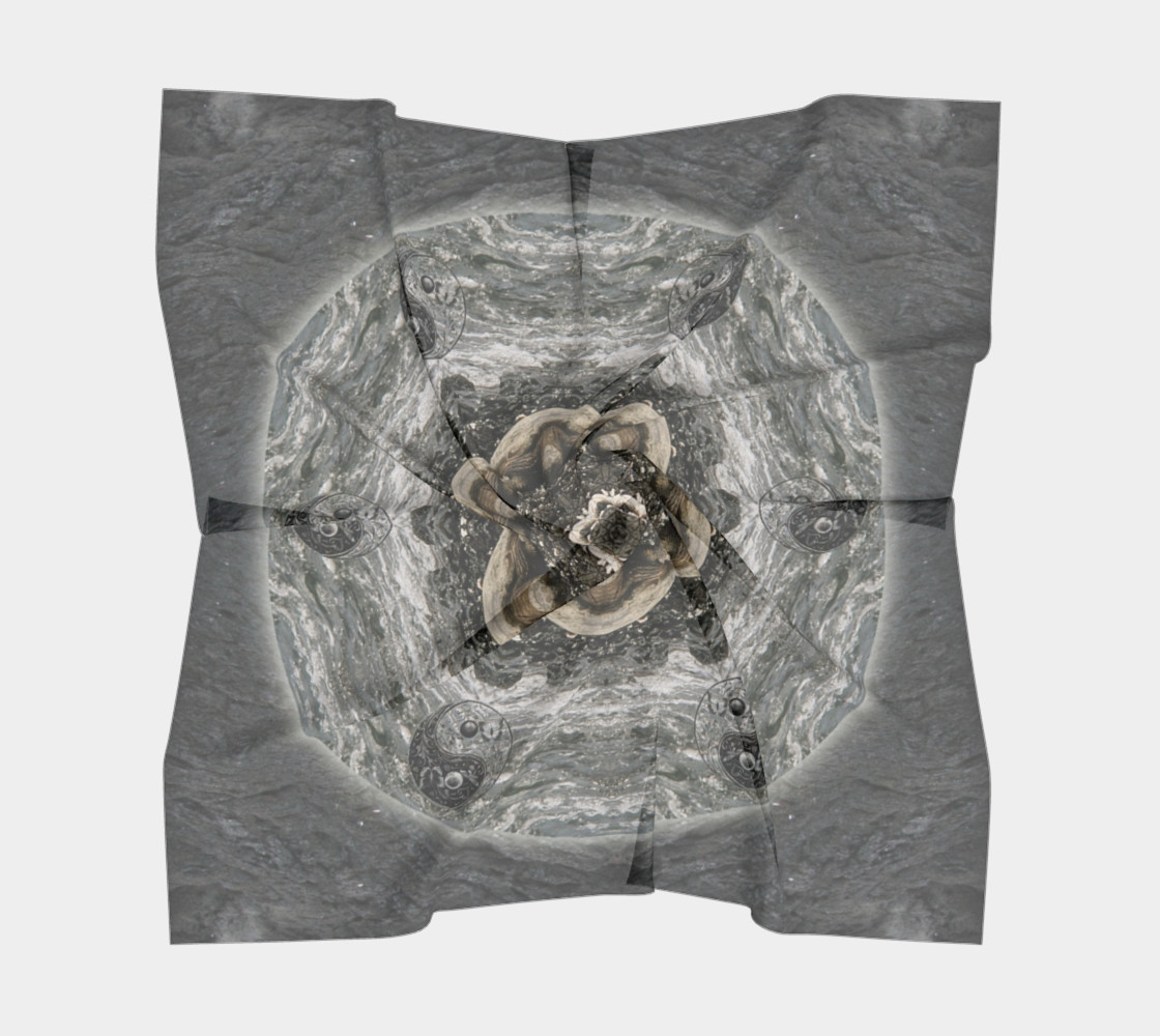 Save the Turtles Silk Scarf preview #5