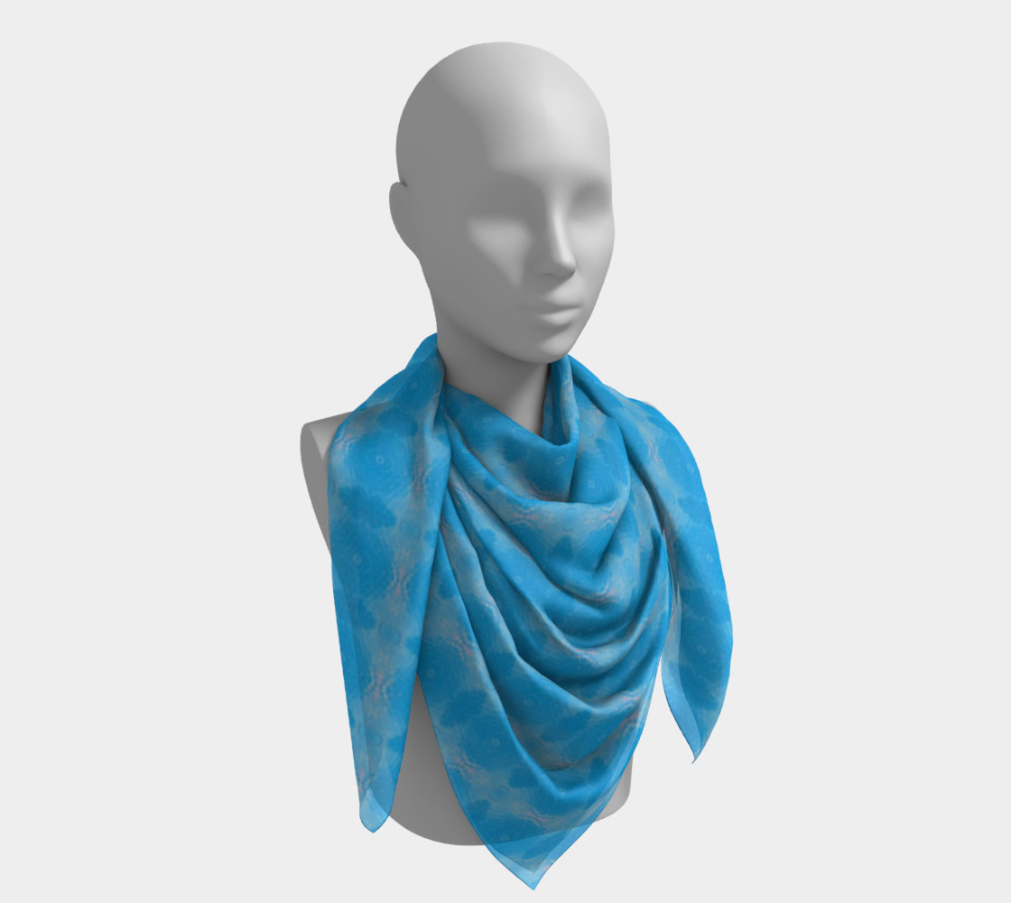 When Water Remembers Big Scarf  preview #4