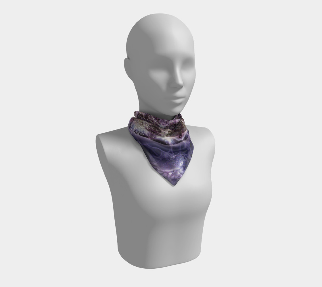 Unfoldment Large Silk Scarf preview #1