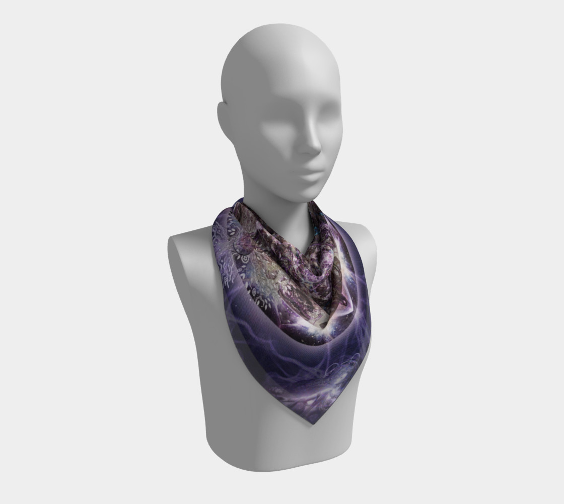 Unfoldment Large Silk Scarf preview #2
