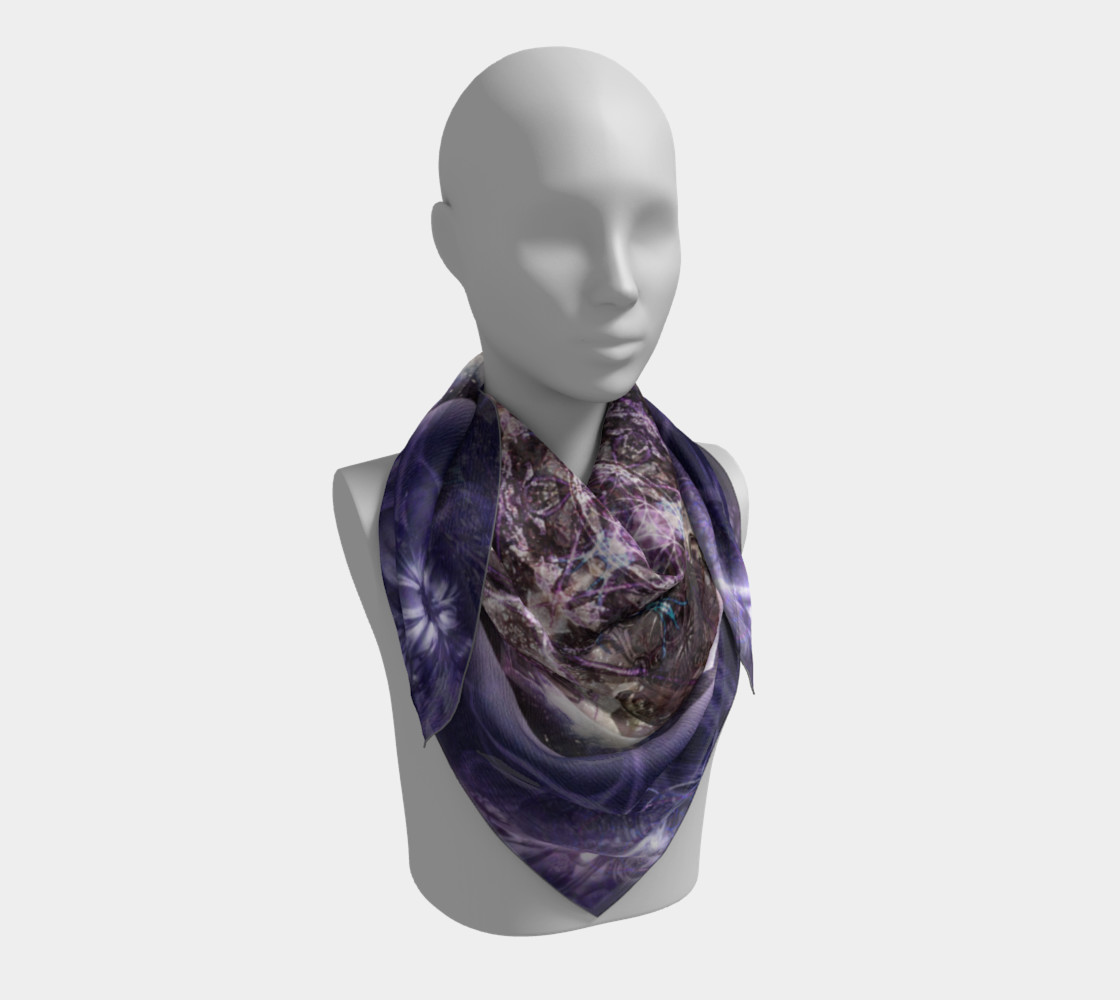 Unfoldment Large Silk Scarf preview #3