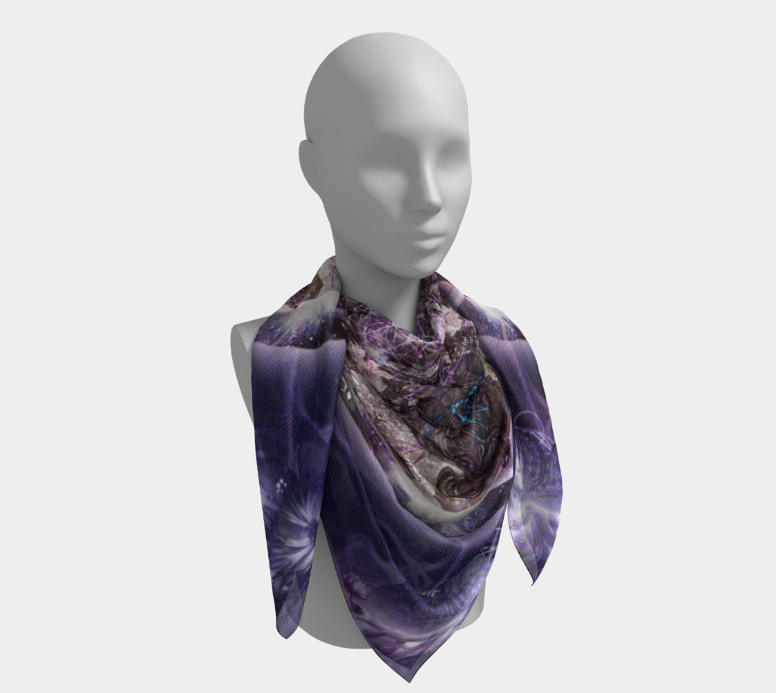Unfoldment Large Silk Scarf preview #4