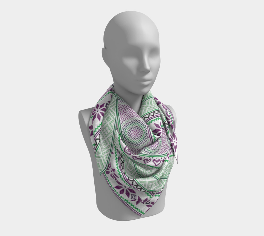 Mint Tribe Scarf preview #3