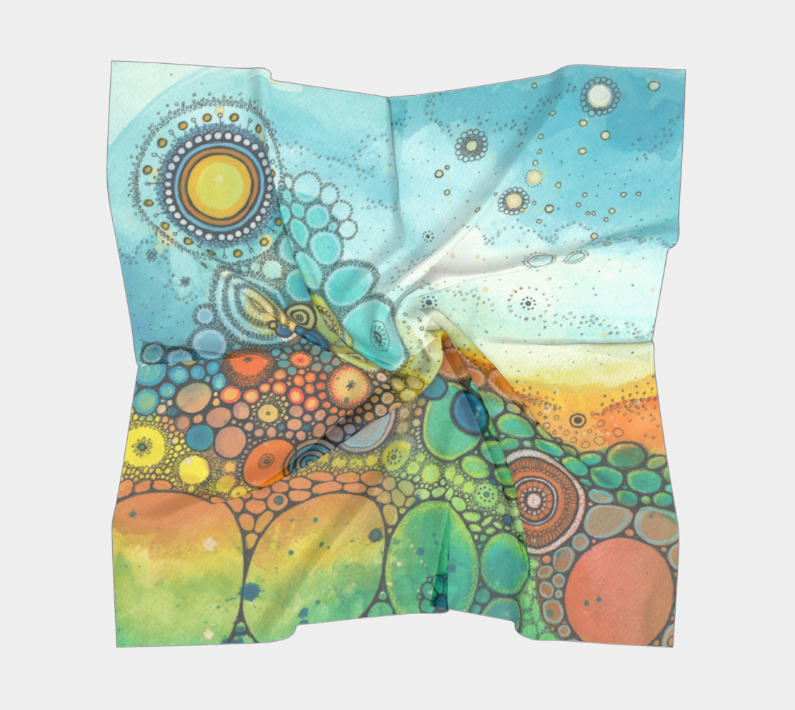 Send Me On My Way Doodle Scarf preview #5
