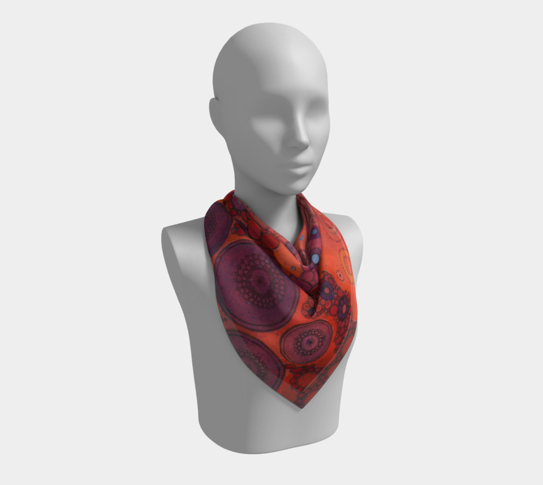 Shake It Out Doodle Scarf preview #2