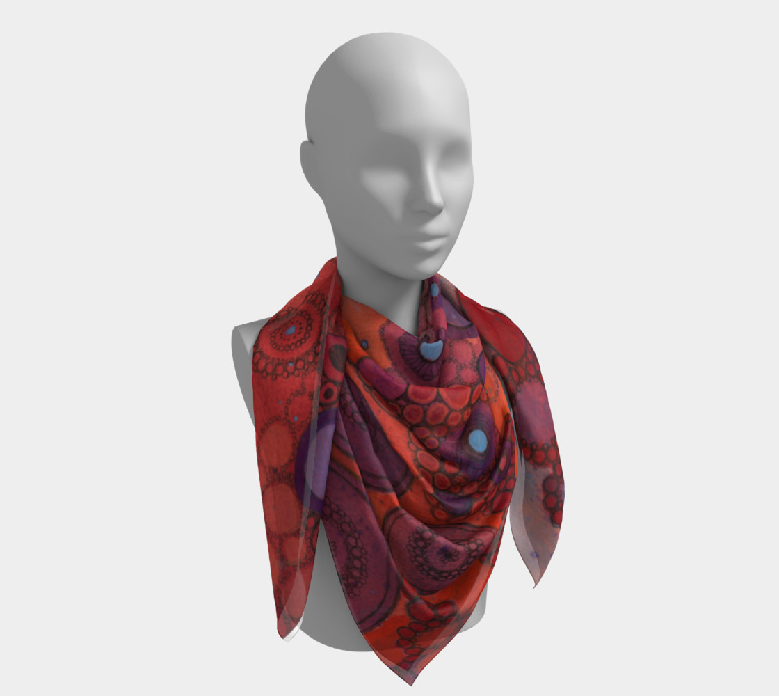 Shake It Out Doodle Scarf preview #4