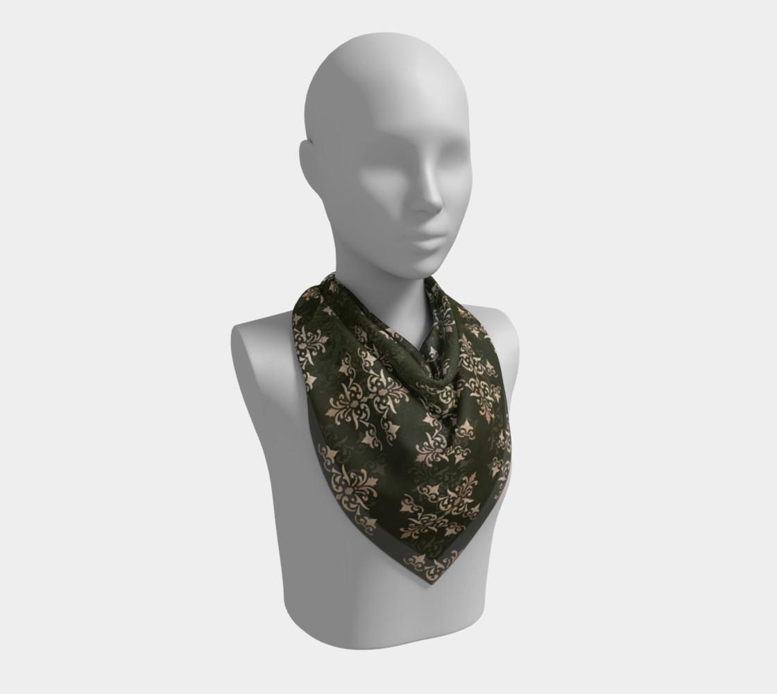 Aperçu de Damask grunge seamless pattern #2