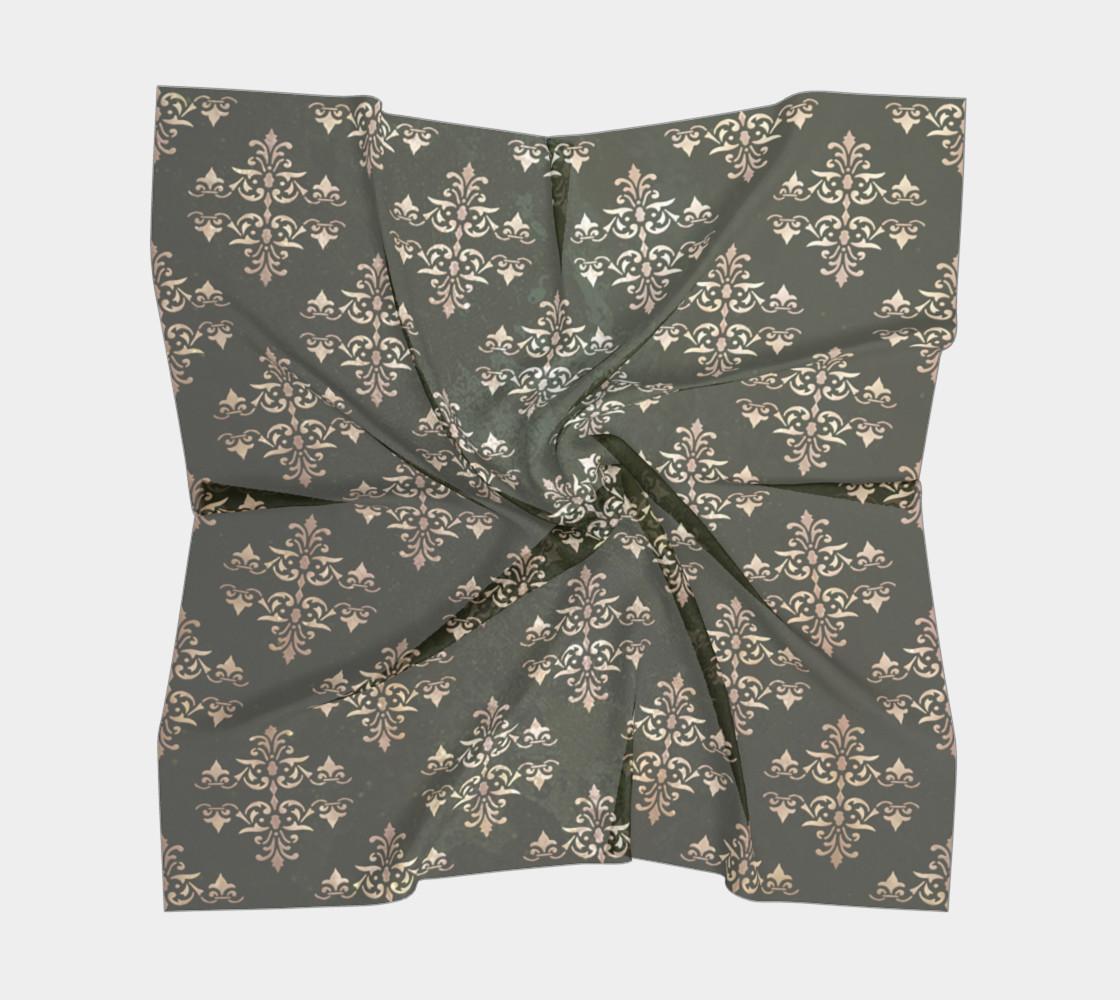 Aperçu de Damask grunge seamless pattern #5