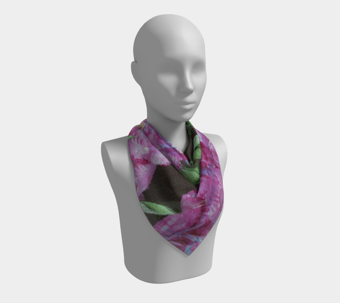 Japanese Peony Scarf preview #2