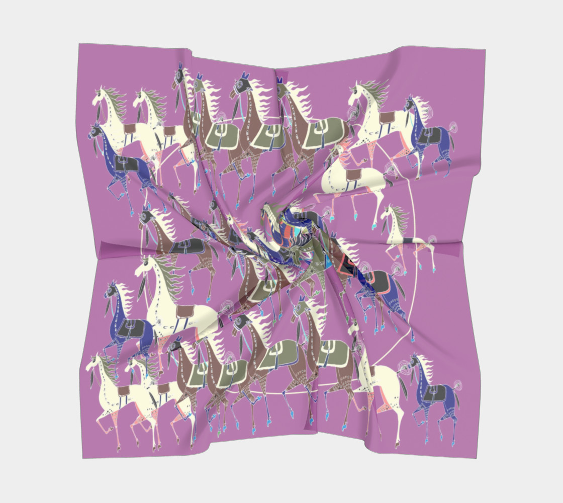 Wild Horses purple preview #5