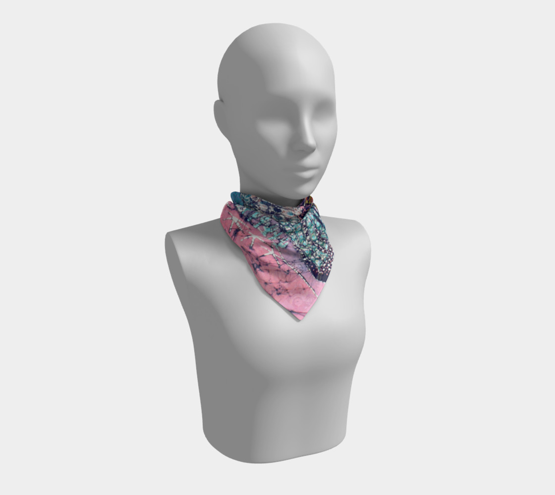 Magical Birds Square Scarf preview #1
