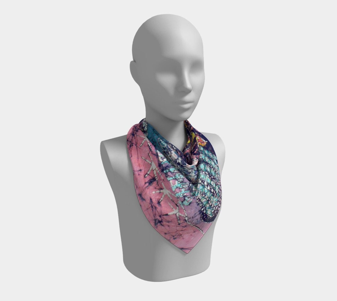Magical Birds Square Scarf preview #2