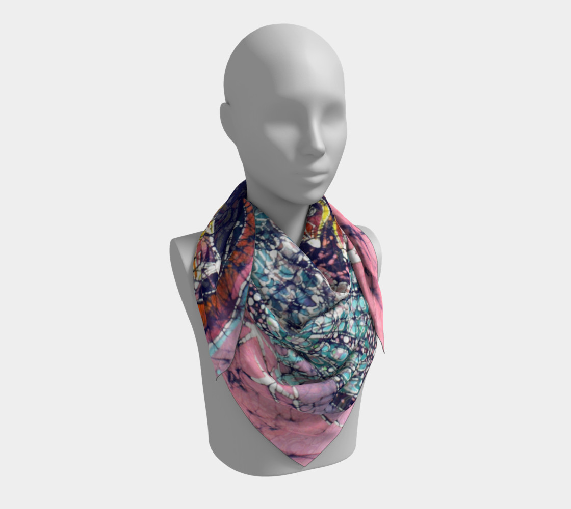 Magical Birds Square Scarf preview #3
