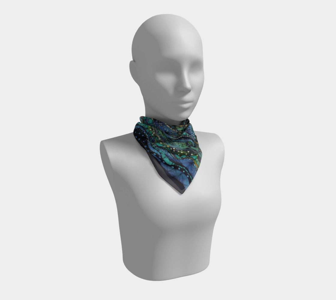 Breath Over Mountain Square Scarf preview #1