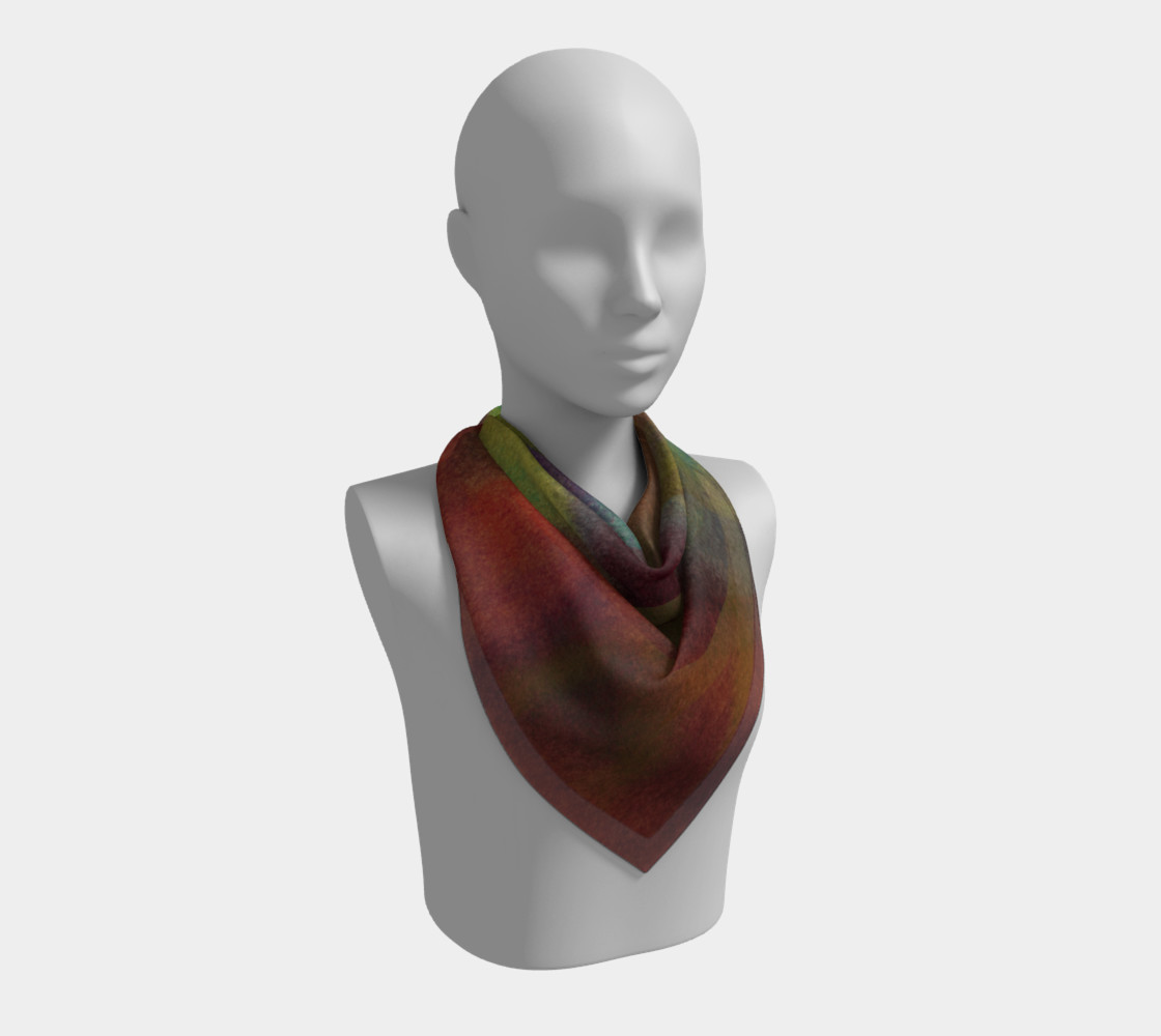 Tropical Watercolor Scarf preview #2
