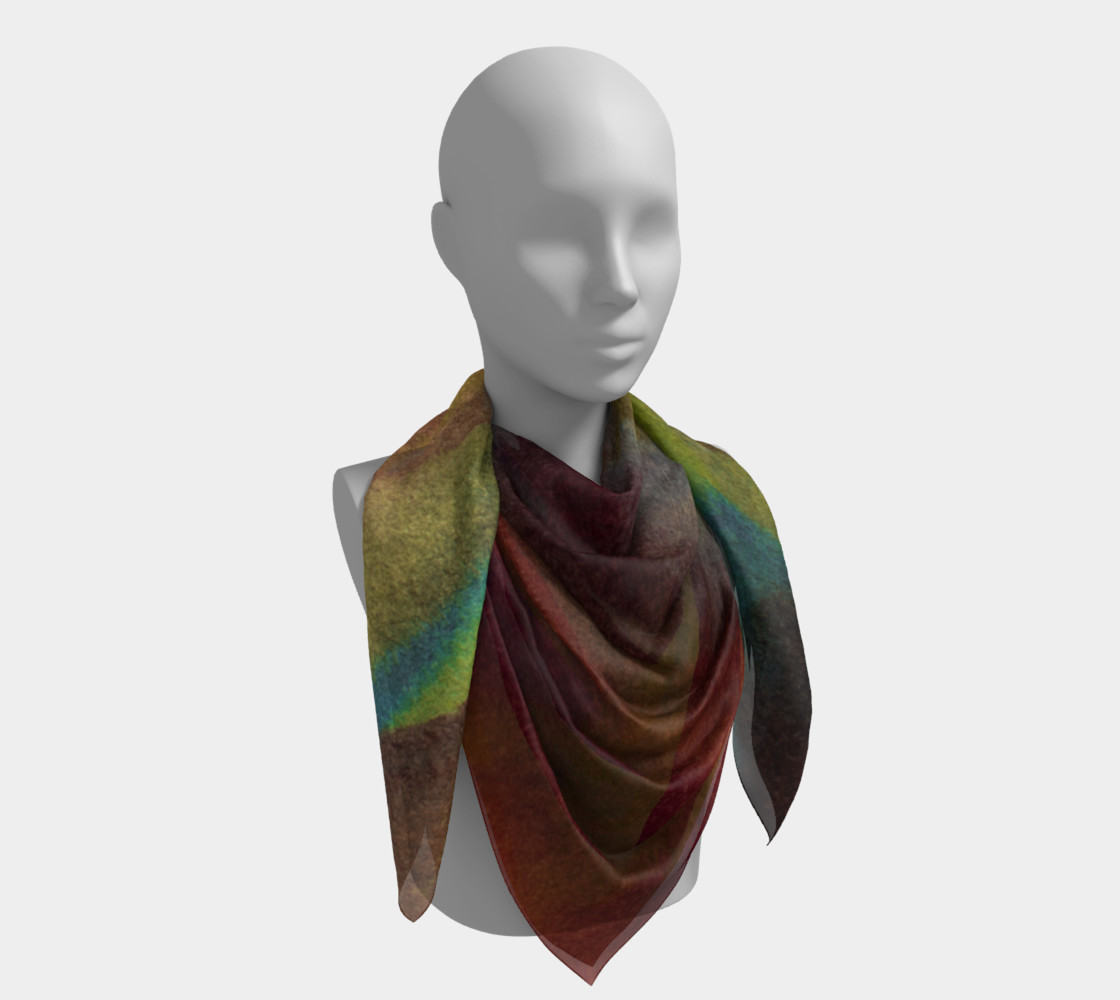 Tropical Watercolor Scarf preview #4