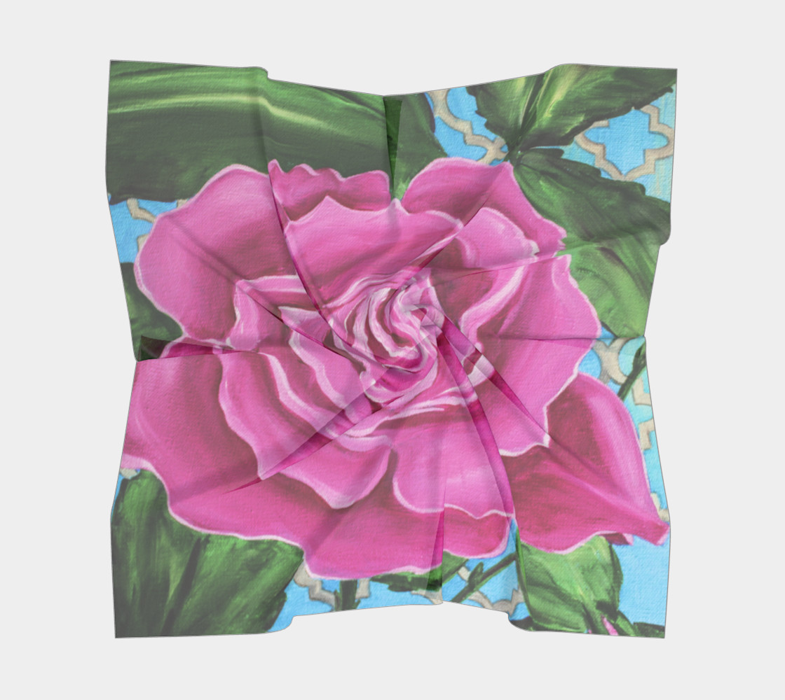 Mother's Day Roses 26 x 26 Scarf preview #5