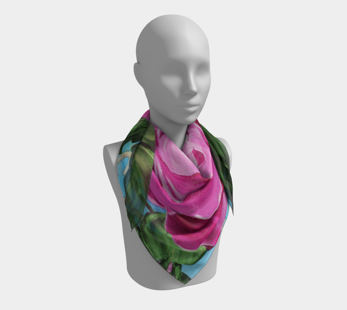 Mother's Day Roses Large Scarf preview #3