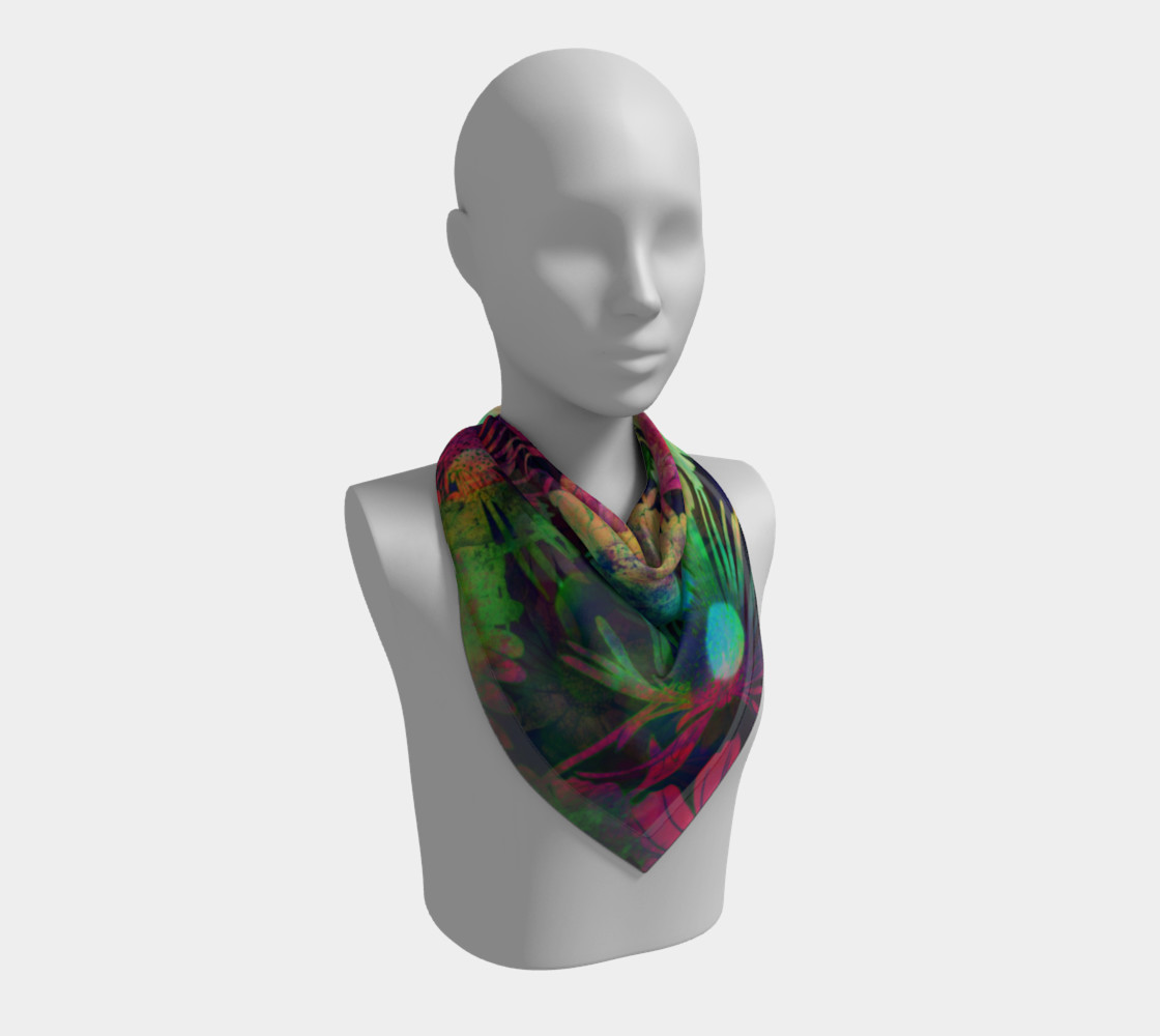 floral scarf preview #2