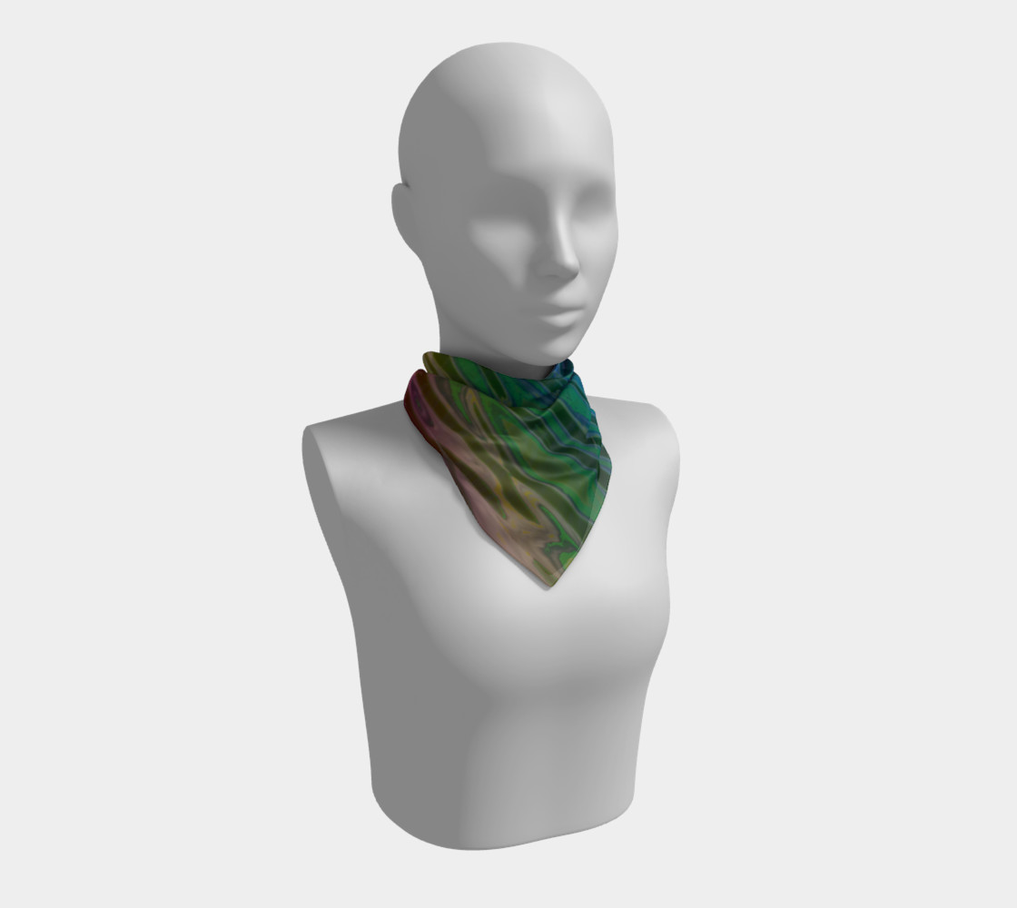 ColorWave Square Scarf preview #1