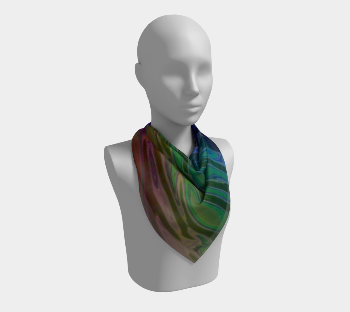 ColorWave Square Scarf preview #2