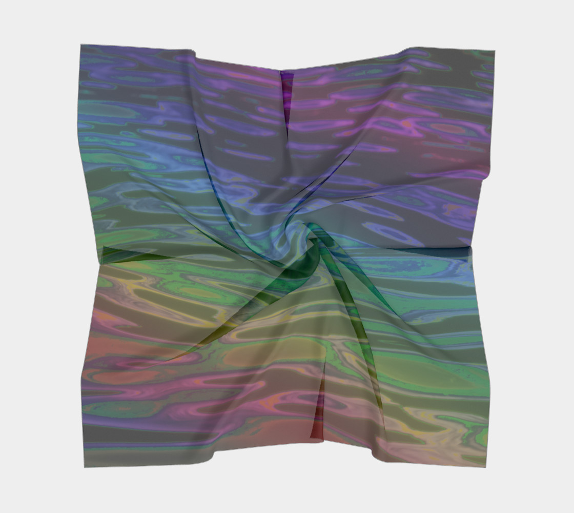 ColorWave Square Scarf preview #5