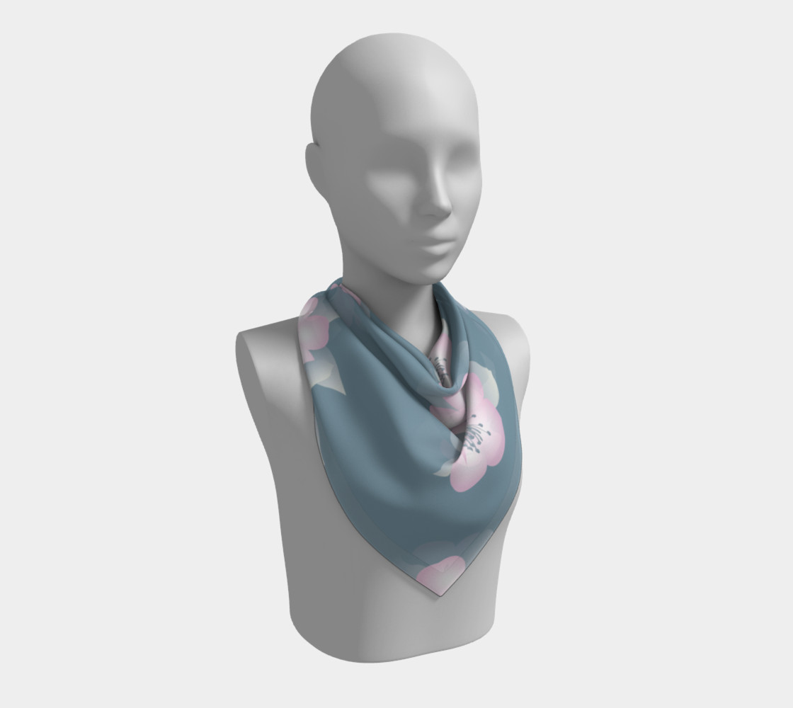 Large Silk Scarf preview #2