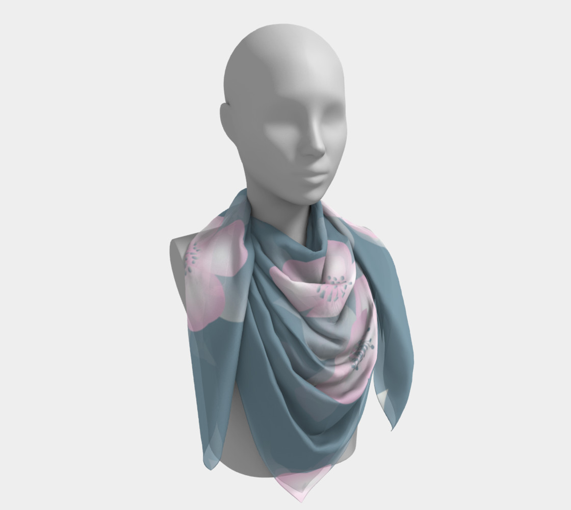 Large Silk Scarf preview #4