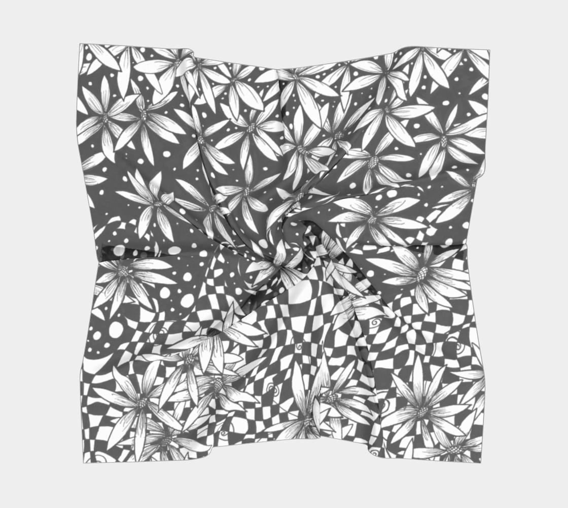Aperçu de Floral Transformation Small Scarf #5