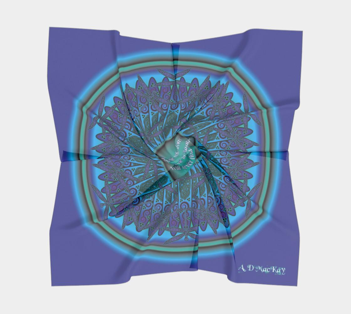 Celtic Dragonfly Mandala preview #5