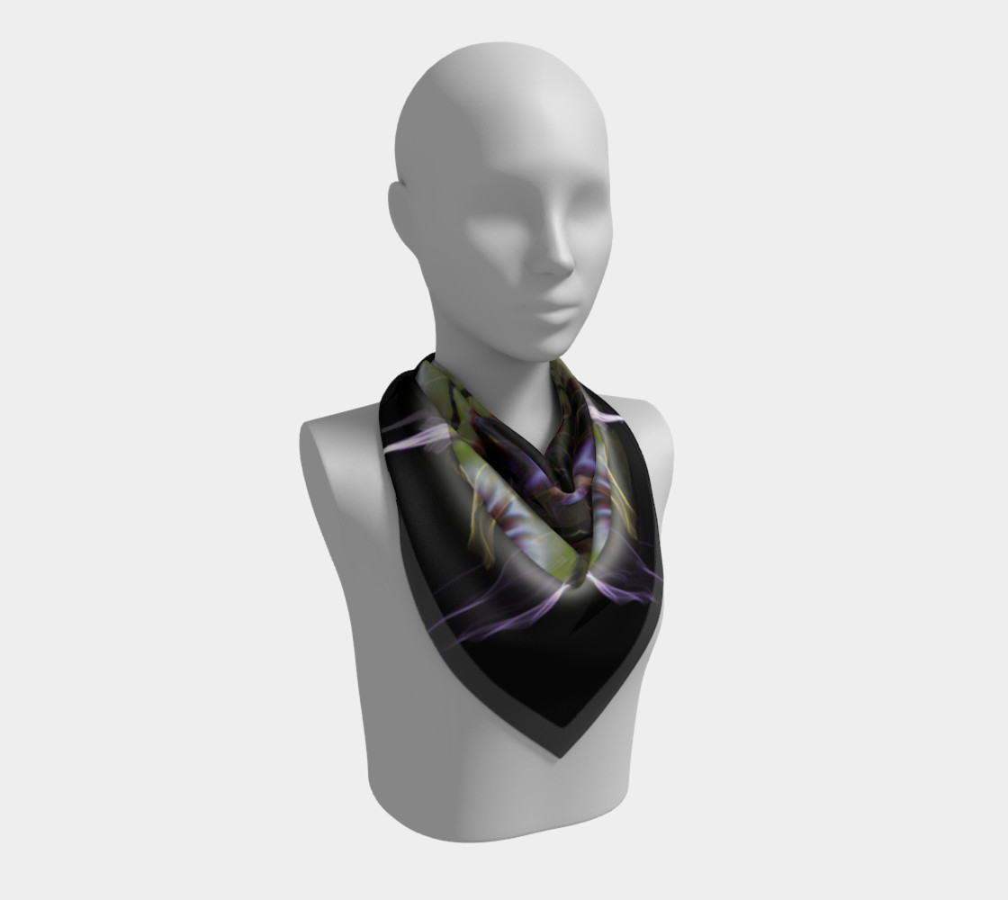 Soul Star Large Silk Scarf preview #2