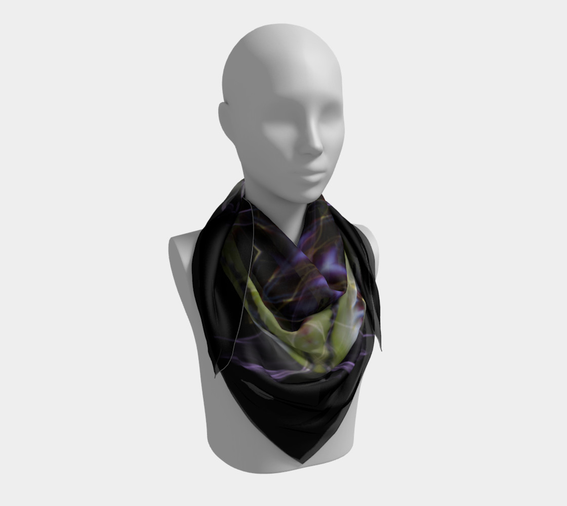 Soul Star Large Silk Scarf preview #3