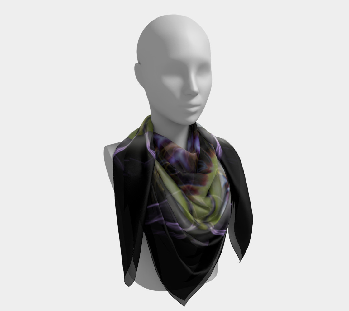 Soul Star Large Silk Scarf preview #4