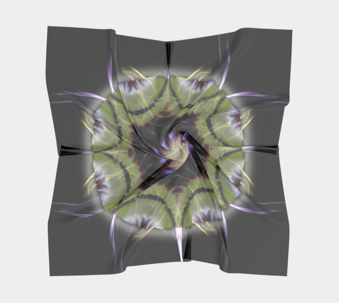 Soul Star Large Silk Scarf preview #5
