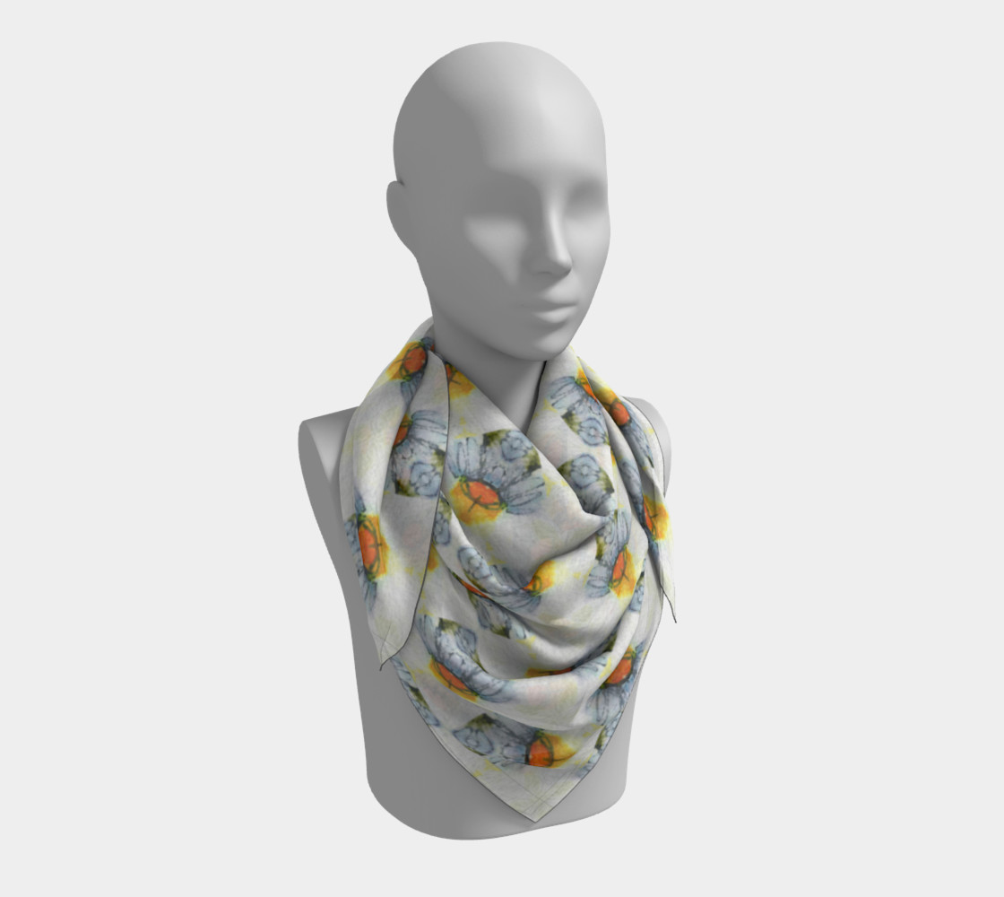 Petite Flower Feminine Scarf 2 preview #3