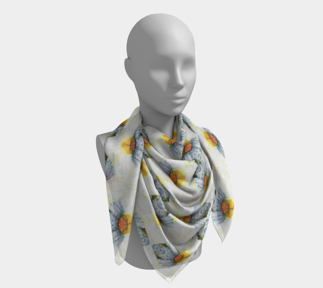 Petite Flower Feminine Scarf 2 preview #4