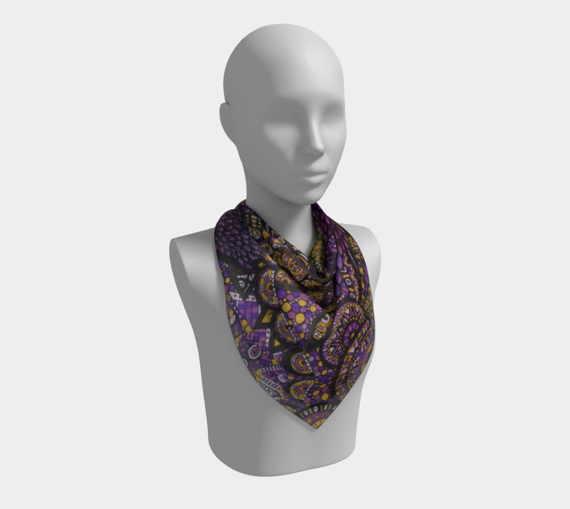 Purple Madness Scarf Part I preview #2
