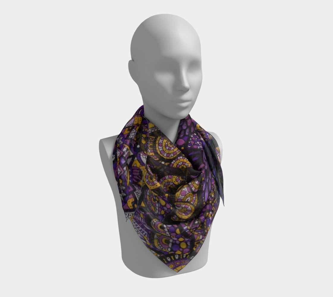 Purple Madness Scarf Part I preview #3