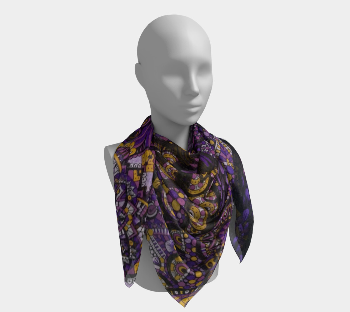 Purple Madness Scarf Part I preview #4