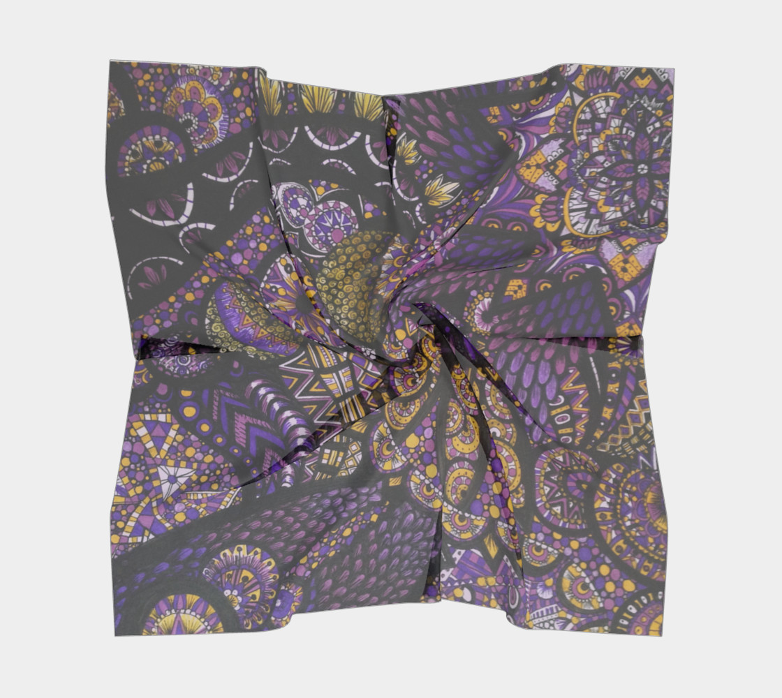 Purple Madness Scarf Part I preview #5
