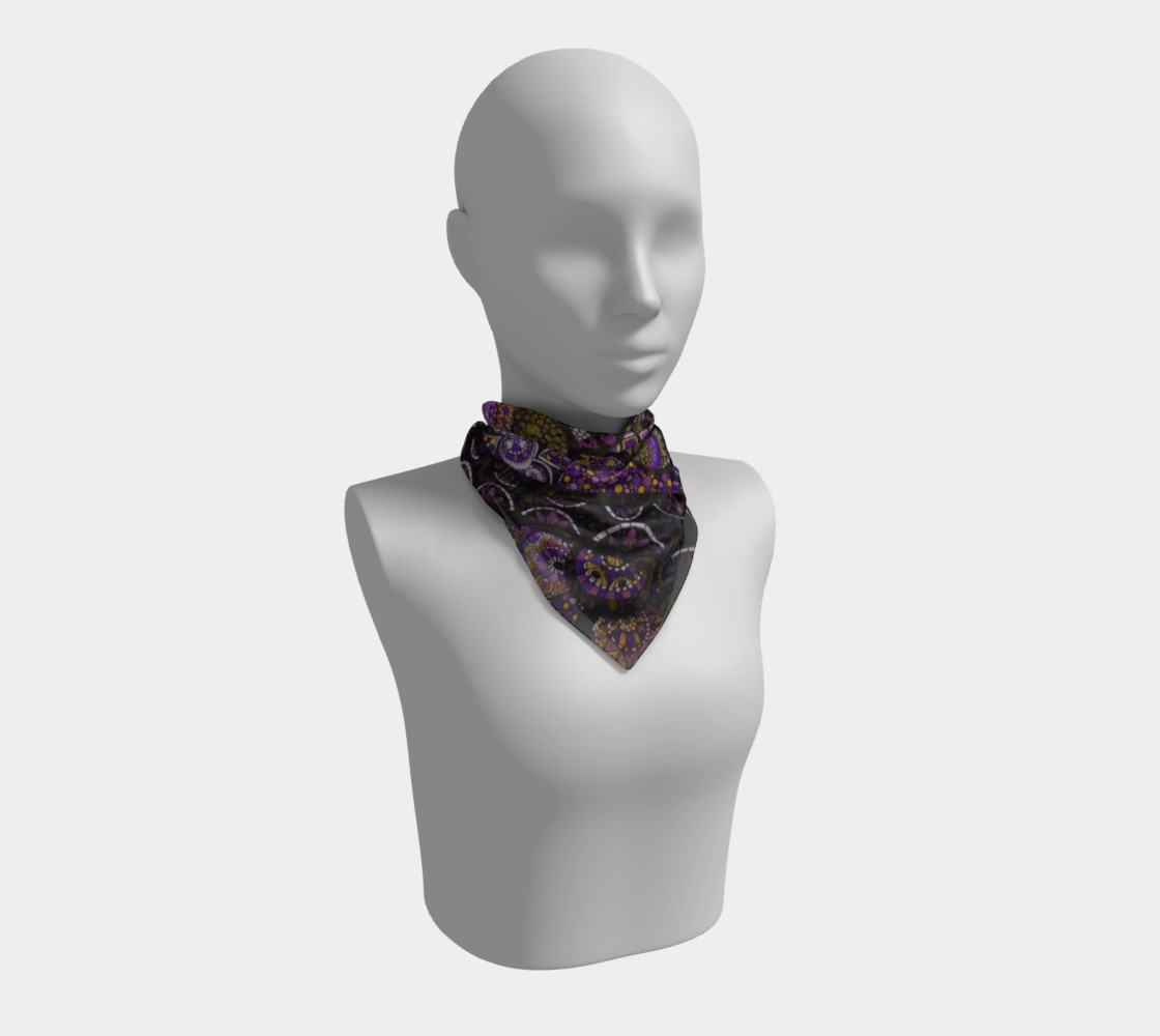 Purple Madness Scarf Part II preview #1